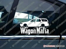 LOW Opel / Vauxhall Vectra B estate WAGON MAFIA lowered car Sticker