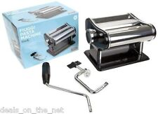 STAINLESS STEEL 3 IN 1 PASTA SPAGHETTI LASAGNE TAGLIATELLE MAKER MACHINE CUTTER