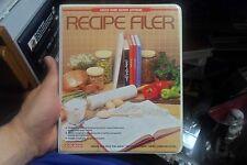 Coleco Adam Recipe Filer program, case, cassette tape, users manual Sealed