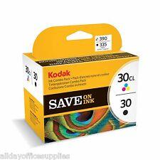 Kodak 30B Black and 30C Colour Original Combo / Multi Pack Ink Cartridge