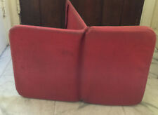 Meditation Chair Red  1970's  Vintage Used