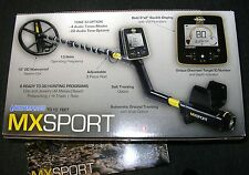 WHITES  MX SPORT METAL DETECTOR WITH WATERPROOF AND STANDARD HEADSET & PROMOTION