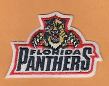 NHL FLORIDA PANTHERS LOGO 3 1/2 inch JERSEY PATCH Unused Stock HOCKEY IRON ON