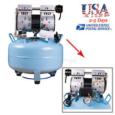 USA* 52dB(A) Noiseless Oil Free Oilless Air Compressor 130L/m for Dental Chair