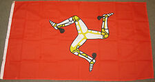 3X5 ISLE OF MAN FLAG BRITISH GREAT BRITAIN UK NEW F485