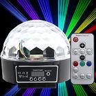 Disco Licht Effekt LED Kugel RGB Beleuchtung für DJ Party Club mit Fernbedienung
