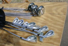 new wilson ultra golf clubs-oversize irons complete set- with bag--in shrinkwrap