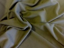 "Olive Green Ponte Jersey 58"" wide.Free postage on 2nd,3rd metre"