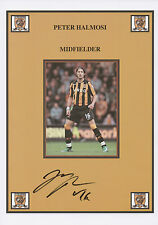 PETER HALMOSI Signed 12x8 Print HULL CITY AFC The Tigers COA