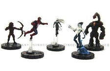 Baby Boys Gift 5pcs HEROCLIX Collection Marvel Legends Figure Toys Miniature