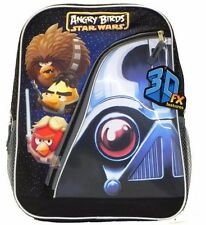 Angry Birds Star Wars Use the Angry Force  16'' Large Childrens School Backpack