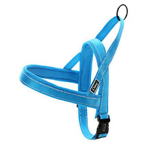 Didog Blue Reflective Easy Walking Dog Harness Quick Fit Dog Vest for Large Dogs