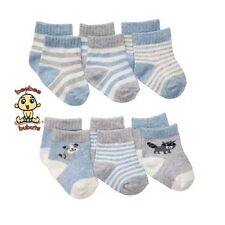 Carter's Booties or Socks 6-Pack 12-24 months Boys Authentic and Brand New
