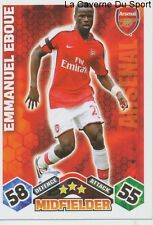 EMMANUEL EBOUE IVORY COAST ARSENAL.FC KSC.BEVEREN CARD PREMIER LEAGUE 2010 TOPPS