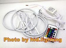 LED Multi-Color Remote SMD RGB ANGEL EYES HALO RING Lamps for LEXUS IS200 IS300