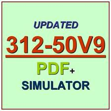 EC-Council 312-50V9 Certified Ethical Hacker V9 312-50 Test CEH Exam QA PDF+SIM