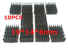 10pcs Aluminum Heat Sink For LM2596 LM2577 LM2587 Heatsink 19x14x6mm IC Radiator