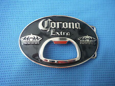 CORONA EXTRA LAGER BEER BOTTLE OPENER  BELT BUCKLE