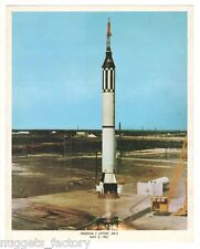 Photo Vintage Original de la Nasa Freedom 7 Liftoff ( 013 )
