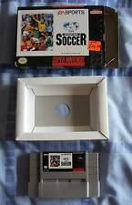 FIFA INTERNATIONAL SOCCER VERY RARE RETRO U.S. SNES VERSION SUPER NINTENDO