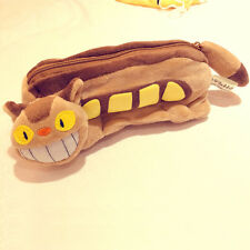 My Neighbor Totoro Cat Bus Soft Pencil Case Plush Toy Cosplay Props Gift Kid