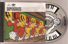 "Supergrass  - ""Alright / time""  - the who. beatles. alternative rock - AS NEW"