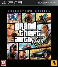 Grand Theft Auto V GTA 5 Collectors Edition (No Codes) PS3 Playstation 3