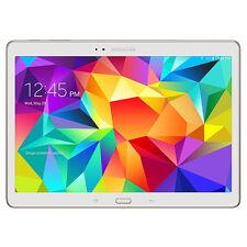 """Samsung Galaxy Tab S 10.5"""" SM-T805Y 16GB WiFi + 4G LTE Sim Dazzling White Tablet"""