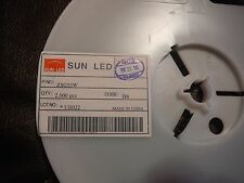 SUN LED ZSG53W Single Color LED Water Clear GREEN 1.2mm SMD **NEW** 10/PKG