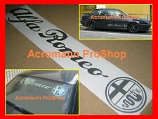 "36"" 91.4cm Alfa Romeo windshield sun strip visor decal sticker GTA GTV giulietta"