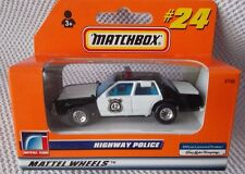"""Ford HIGHWAY POLICE (3"""" Long) MATCHBOX #37703-33500 (1998) RARE GERMAN ISSUE #24"""