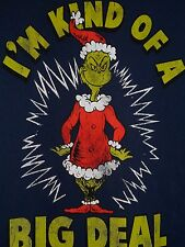 Dr. Suess How The Grinch Stole Christmas I'm Kind a Big Deal Funny T Shirt~L