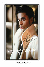 PRINCE LARGE AUTOGRAPH SIGNED POSTER PRINT PHOTO  - GREAT PIECE OF MEMORABILIA