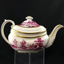 Grosvenor China England Tea Pot RURAL Rose Cottage Pattern
