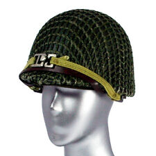 "Dragon Models WWII US Army Helmet with Cloth Mesh for 12"" Figures 1:6 (2501b2)"