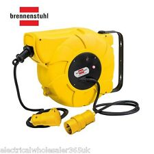 Automatic Cable Reel 16M+2M 110V 16A Wall/Ceiling Mountd brennenstuhl 1241003110