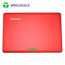 New Top LCD Rear Lid Back Cover Case for Lenovo IdeaPad U410 Red Non Touch