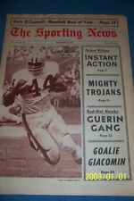 1967 Sporting News CLEVELAND BROWNS Leroy KELLY No Label FREE/SHIP N/Label