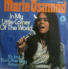 "7"" 1974! Marie Osmond: in my little corner of the world/Mint -? \"