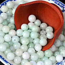 100PCS Natural Grade A Jade (Jadeite) loose Round bead/ Size: 3mm (Wholesale)