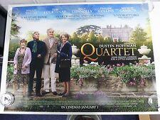 Quartet Maggie Smith Dustin Hoffman Original Film / Movie Poster Quad 76x102cm