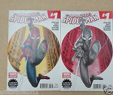 AMAZING SPIDER-MAN #1 LIMITED EDITION COMIX VARIANT SET COMICS FIRST PRINT