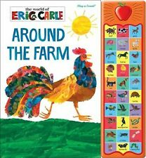 The World of Eric Carle: Around the Farm Sound Book (Hardcover)