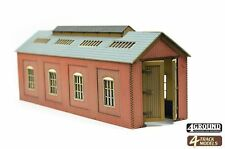 4TrackModels Single Engine Shed TS109 for both HO and OO Scale