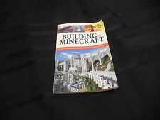BUILDING IN MINECRAFT From Fall River Press Paperback Very Good Condition 2014