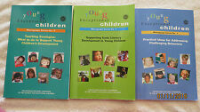 3 young Exceptional Children Books Early Literacy, Challenging Behaviors