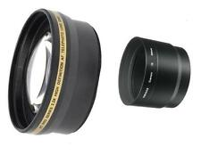 58mm 2.2x Telephoto Lens for Canon PowerShot S5 IS S3 IS S2 IS S5IS S3IS S2IS