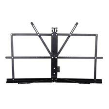 Tabletop Music Stand Metal Sheet Music Holder Folding Foldable w/Carry Bag N7I5
