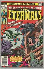 The Eternals # 4 , Vintage Marvel comic book from October 1976