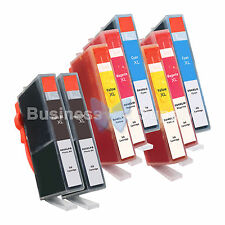 8** PK 564XL New Ink Cartridge W/CHIP HP 564XL *INK LEVEL 564XL 6CLR+2PH for HP